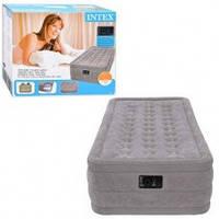 Велюр кровать Intex 67952 со встроенным насосом 230V KHT