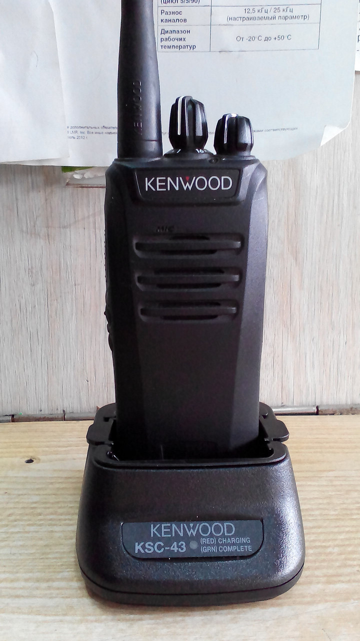 Kenwood NX-240, радиостанция б.у., почти новая