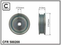 Ролик натяжной ремня приводного MITSUBISHI PAJERO 3.0I V6 K96W 6G72 MITSUBISHI Galant