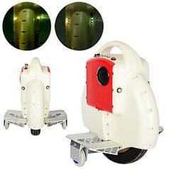 Моноколесо TR-D03-1 белый, мотор 350W, скорость до 18км/ч, до 120кг, Bluetooth