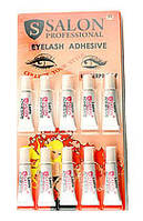 Клей для ресниц Salon Professional Eyelash Adhesive Clear прозрачный 10 шт
