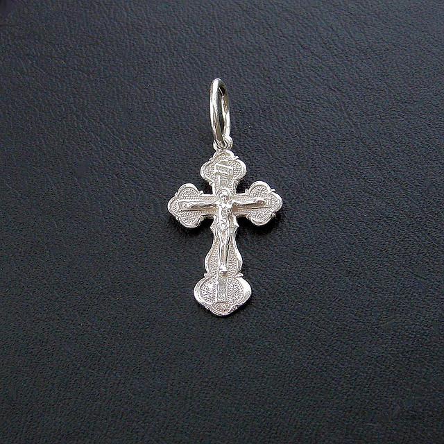 Серебряный крест из серебра 925 пробы №4с