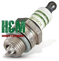Свеча зажигания Bosch WSR 6 F для мотокос Stihl FS 38, 45, 50, 55, 56, 70, 75, 80, 85