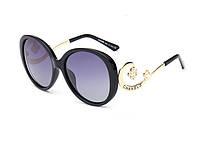 Женские солнцезащитные очки (1663) black, фото 1