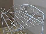 Кованая этажерка для обуви, фото 3