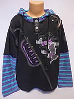 Батники для мальчиков с капюшоном от 6-12лет. (Осень)