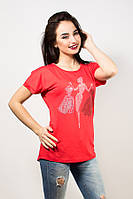 Женские футболки с красивой спинкой бантик р.46-48