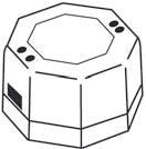 Трансформатор 220/12 В, 9810003, фото 1