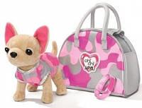 """Собачка Chi Chi Love """"Чихуахуа. Модерный камуфляж"""" с ошейником-браслетом и сумочкой 589 0597"""
