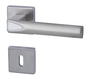 Итальянская дверная ручка Almar NIGHTLUX PYRAMIDE