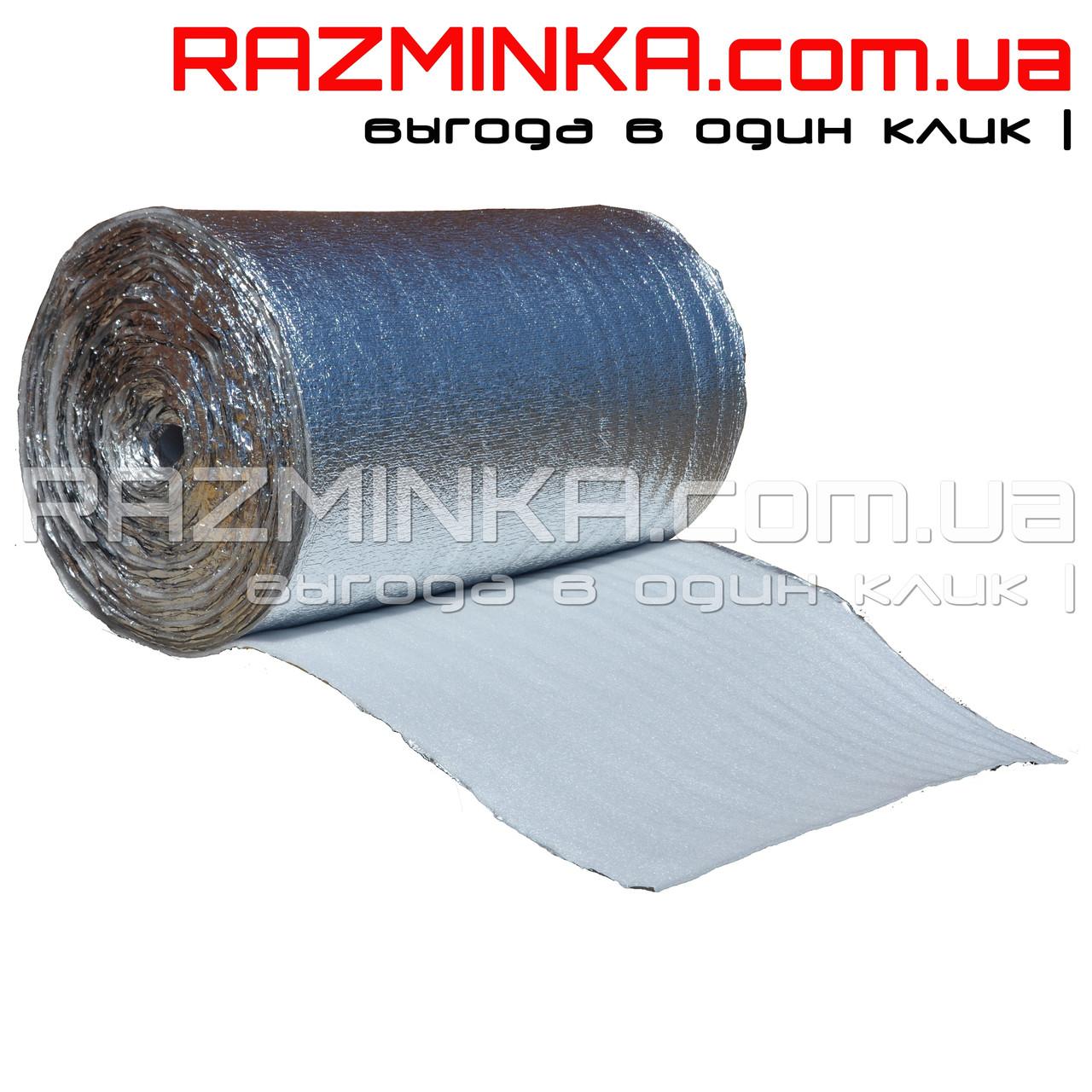 Вспененный полиэтилен фольгированный 2мм (50м2)