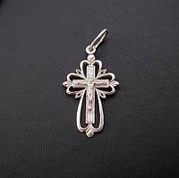 Серебряный крест №6c, фото 1