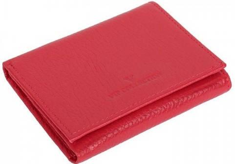 Обворожительный женский кошелек Vip Collection 92R flat красный