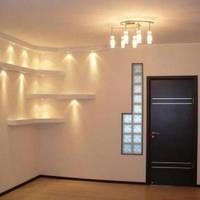 Стены в квартире из гипсокартона