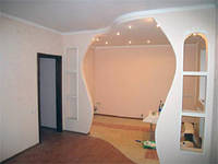Стена с проемом из гипсокартона