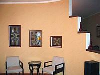 Декор стены из гипсокартона