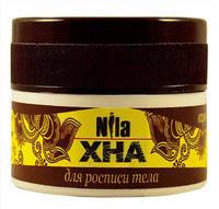 Хна для биотату Nila коричневая 20 г