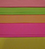 """Бумага А4 80г/м2 100листов 5цветов х20штук """"Neon"""" неоновая М-Стандарт"""