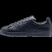 Кроссовки женские Adidas Superstar Supercolor (в стиле адидас) черные