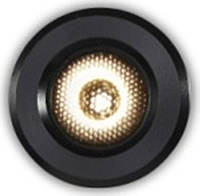 Светодиодные LED точечный светильник 3 Вт черный