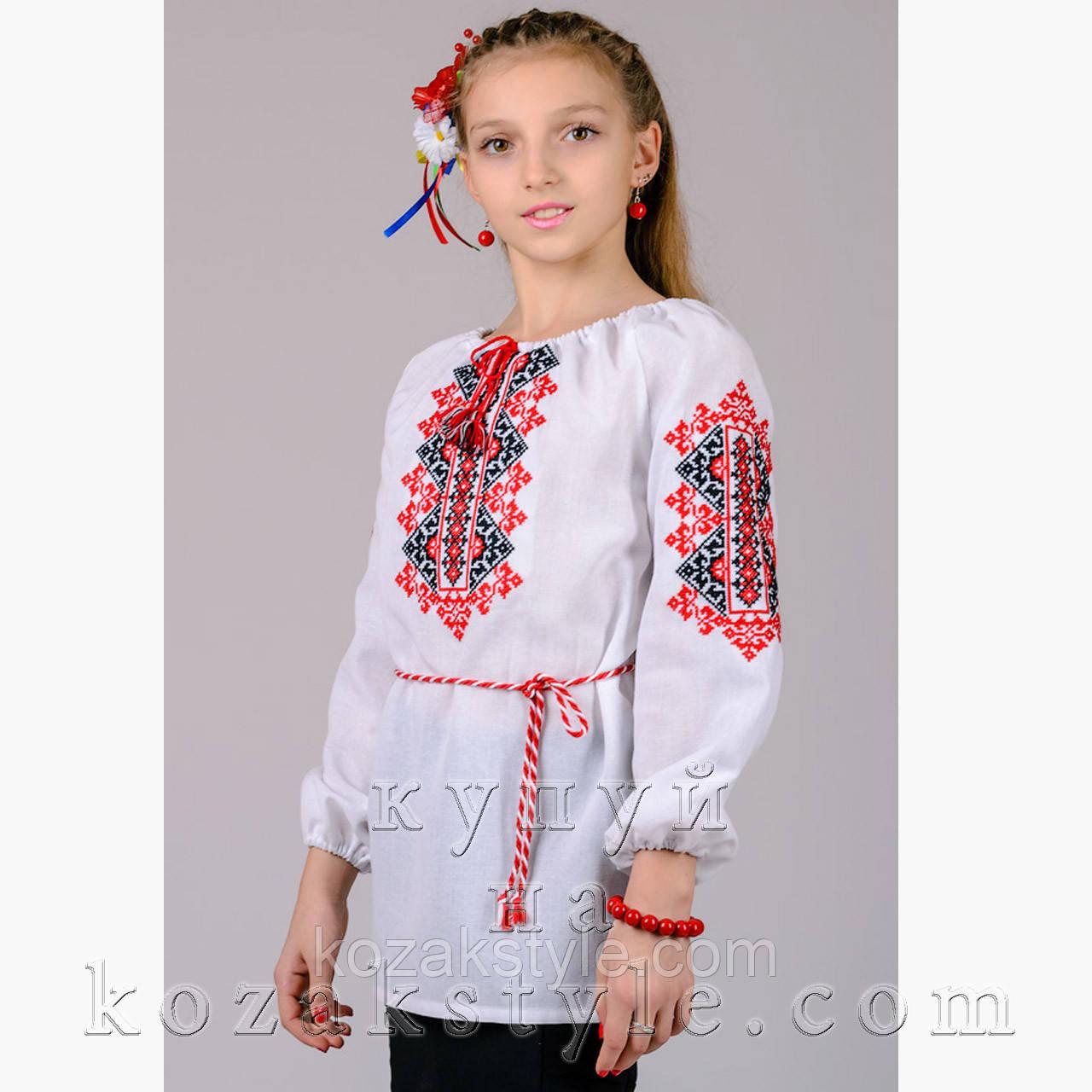 """Вишиванка для дівчинки """"Україночка"""""""