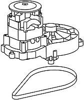 Электродвигатель в комплекте для газонокосилок Gardena PowerMax 34 E