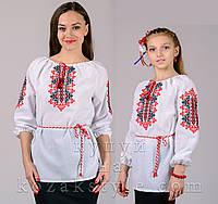 """Пара вишиванок """"Україночка"""" (для матусі та доньки)"""