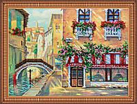 """Набор для вышивания бисером """"Венецианское кафе"""""""