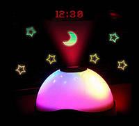 Цифровой будильник с проекцией звездного неба