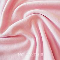 Трикотажное полотно вискоза 100% однотон, розовый