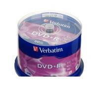 DVD+R silver Verbatim 4.7gb 16x cake 50шт