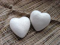 Сердце из пенопласта  45 мм