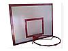 Баскетбольный щит металлический - (0,8 м. х1,0 м) с кольцом