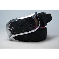 Ремень женский кожаный (черный) Andi 1049_003