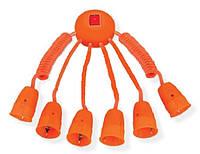 Octopus удлинитель для домашнего кинотеатра 6 подключений с выключателем цена купить, фото 1