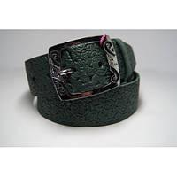 Ремень женский кожаный (зеленый) Andi 1171_045