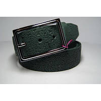 Ремень женский кожаный (зеленый) Andi 1171_046