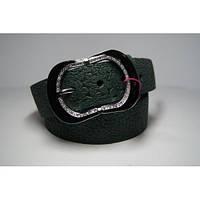 Ремень женский кожаный (зеленый) Andi 1171_048