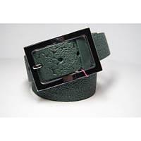 Ремень женский кожаный (зеленый) Andi 1171_049