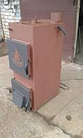 Твердотопливный котел HOTNESS длительного горения 15 квт. эконом не утепленный.