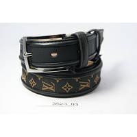 Ремень  Louis Vuitton (черный)