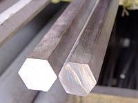 Шестигранник нержавеющий 24 сталь 12Х18Н10Т