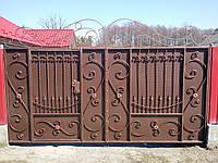 Кованые ворота Киев арт.кв.28