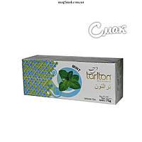 Чай Tarlton (Тарлтон) зеленый с мятой, 3г*25 пак.