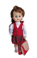 Кукла школьница. Производство Украина.