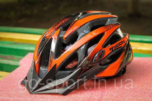 Шлем велосипедный Moon красный