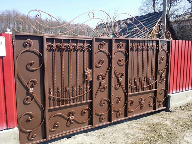 Ворота кованые  2