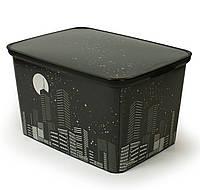 Ящик для хранения Deco's Skyline Amsterdam L Curver