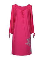 Прямое платье с рукавом Маринка