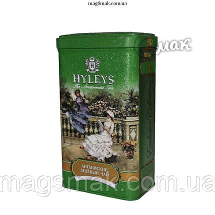 Чай HYLEYS Английский зеленый чай, ж/б, листовой,  125 г, фото 2